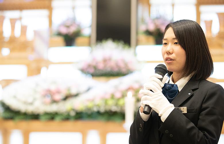 厚⽣労働省認定の葬祭ディレクターご対応