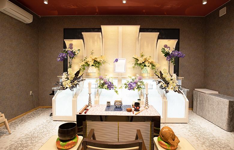 1⽇1組限定完全貸し切りの家族葬ホール