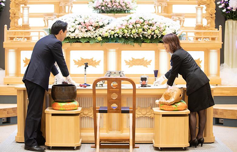 家族葬から⼀般葬までご対応可能な総合式場