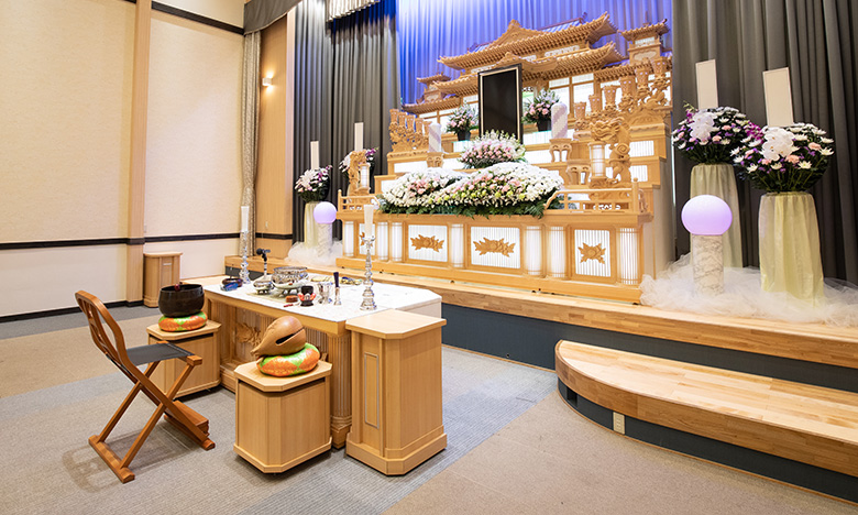 ご要望に合わせてお作りする祭壇
