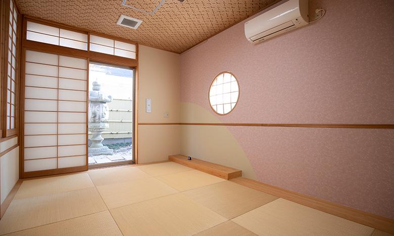 ご宿泊可能な控室